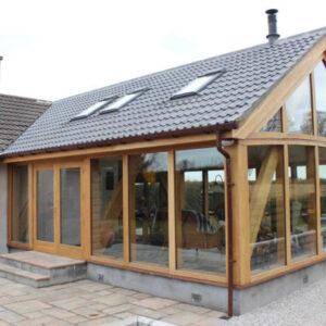 External view of Oak Frame, Aberdeenshire