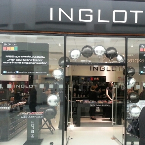 Inglot Fashio Store | All Design