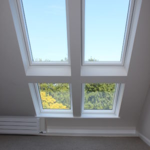 Seaview loft conversion - double bedroom