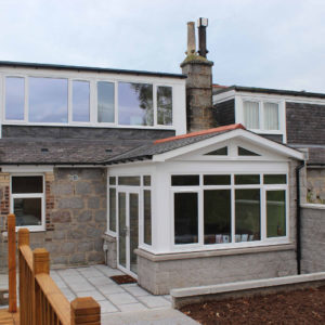 After - sun lounge & dormers