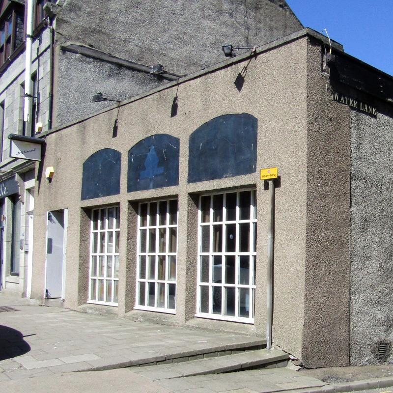 Former Canary Warf building